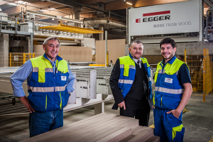 Egger the first to receive international energy award
