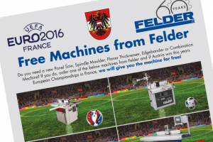 Free machines from Felder (when Austria win the Euro's)
