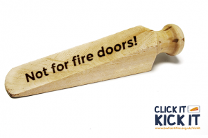 Close the fire door to danger, urges new campaign