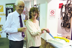 Daltons Wadkin mark 50 years of loyal service