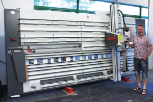 Elcon and Altendorf panel saws for Alternative Elements