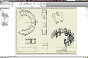 Improved productivity for bespoke furniture design with CAD+T