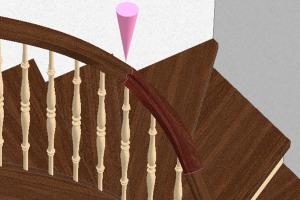 An ideal bridge for stair-builders