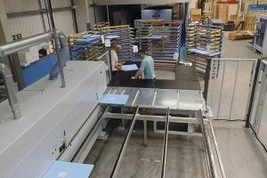 New laser edgebanding line installed