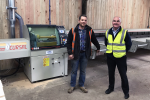 SH Somerscales invests in Cursal TRSI crosscut saw