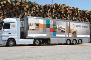 The Swiss Krono One World Showbus is coming to the UK