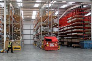 IDS unveils £1m distribution centre