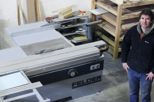 Award-winning bespoke furniture manufacturer relies on Felder