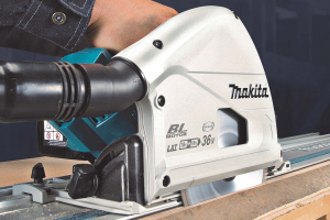 Makita extends twin 18V power to brushless LXT plunge saw