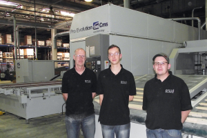 Alphacam programs UK's only Pro Evolution five-axis twin head machine for Ercol