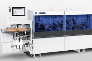 Invisible joint edge banding solutions from Homag