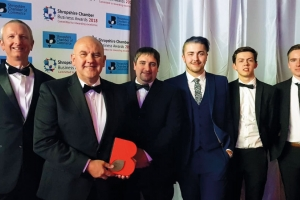 Morris Joinery wins in Shropshire Business Awards