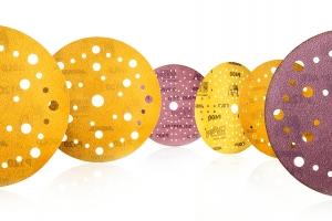 New multi-hole patterns for Mirka's popular paper abrasives