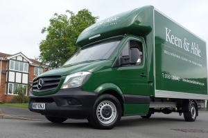 Keen & Able delivers top class delivery service