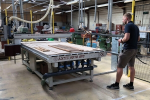 AXYZ router helps timber merchant boost production