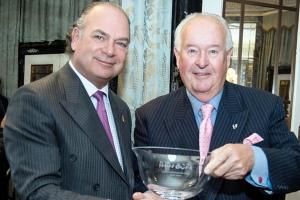 Peter Keen receives Panaz BCFA Lifetime Achievement award