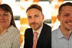 Three new Blum UK reps brings workforce in the UK to 50