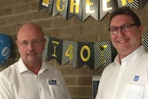 Leitz Tooling's Brian Maddox celebrates 40-year service