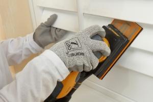 Mirka enables sanding of narrow gaps