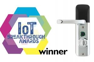 Mighton Products' Avia Smart Lock wins global 2020 IoT Breakthrough Award