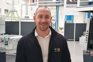 New area sales manager for Weinig UK