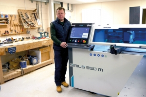 Lewis & Hill's CNC boring/drilling choice