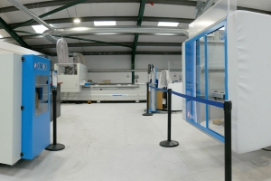 Larger facility enables Masterwood to show both new and used options