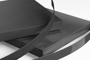 New ABS Edgings for Pfleiderer PrimeBoard MDF black natural for Ostermann