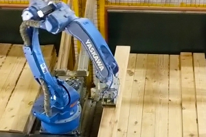 How robots smooth the way for woodworking automation