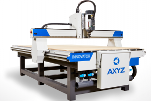 New small-format AXYZ router has enhanced performance-to-cost capability