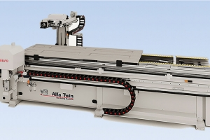 New Centauro ALFA Twin – CNC milling machine for doors and frames