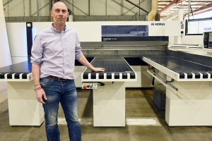 Alexander Cleghorn moves towards a single supply chain with Homag UK