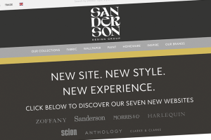 Sanderson Design Group joins The Furniture Makers' Company as corporate member