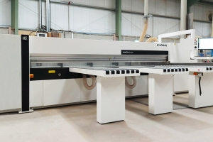 New Homag Sawteq B-200 speeds up production at Timbertone Design