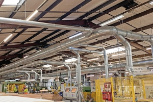 Impressive savings for Jeld-Wen with Extraction Solutions