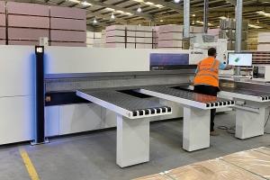 Homag Sawteq B-300 drives production capabilities and efficiencies at Excel Laminating