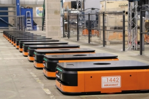 Automation increases efficiency and capacity at A Perry