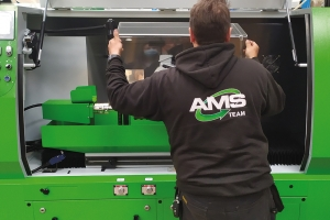 AMS can service all kinds of woodworking machines – from small to huge