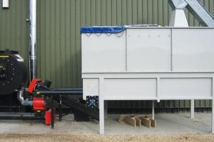 Safe storage and handling of industrial wood-waste