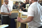 Leitz Tooling returns to Leeds College of Building with 'A+' rated timber window production seminar