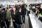 The nine halls of Fiera di Pordenone are almost full