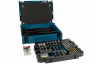Makita's clever MakPac range now has trolleys, storage trays, drill and bit sets