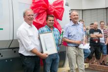 Weinig marks significant moulder milestone