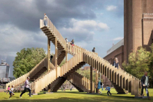 Endless Stair climbs into production phase as location is moved to Tate Modern, Bankside