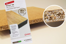 Finsa provide veneered lightweight MDF through Timbmet