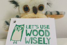 Norbord despatches parliament of owls to get Use Wood Wisely message to Parliament