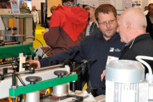 Machinery and materials in partnership at W14