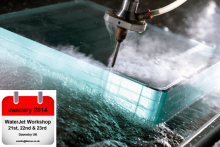 Discover the advantages of water jet cutting with Intermac