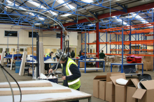 DAMS invests £500k in new upholstery department