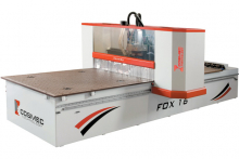 Ney introduces Cosmec's Fox series of CNC routers